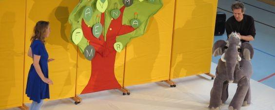 "Theaterprojekt ""Eukitea"" an der Grundschule Gerolsbach"